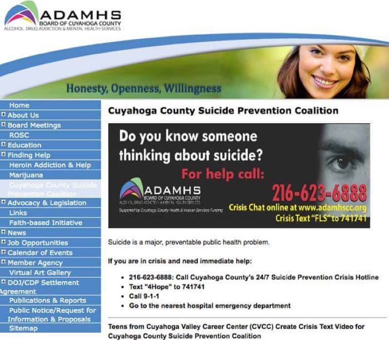 Cuyahoga County Suicide Prevention Coalition