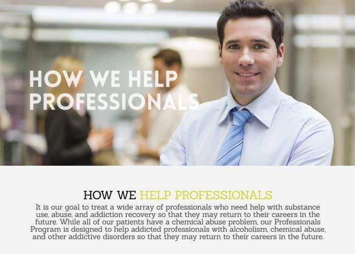 How we help professionals