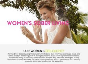 Women's sober living